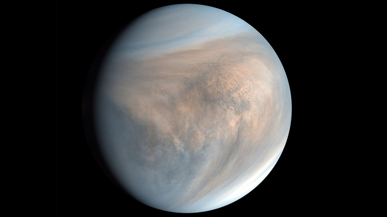 Bits of Venus from ancient asteroid collisions may be hidden under the moons surface