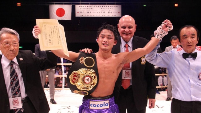 Hiroto Kyoguchi's light flyweight title bout scrapped after WBA champion tests positive for COVID-19