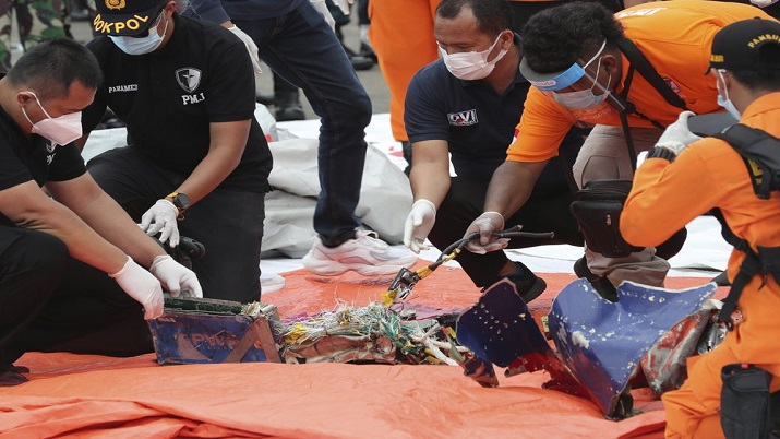 Indonesia Sriwijaya Black Boxes Found Along With Other Human Remains