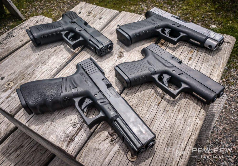 types of glocks