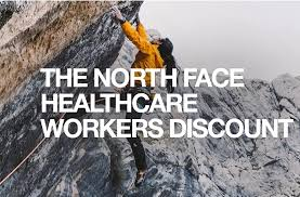 North face healthcare workers discount